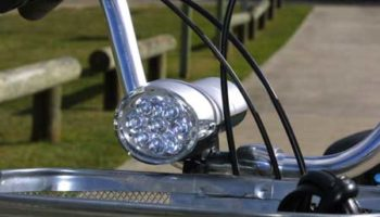 Trike Bike Adult 3 Wheel Tricycle Quality LED Headlight