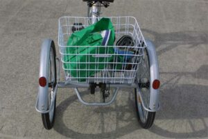 Trike Bike Adult 3 Wheel Tricycle Large Rear Basket