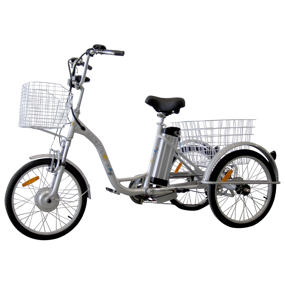20 electric trike bike silver trike bike australia. Black Bedroom Furniture Sets. Home Design Ideas