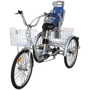 Trike Bike | Adult 3 Wheel Tricycle Child Baby Seat