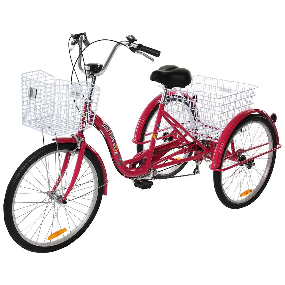 24 aluminium trike bike red trike bike australia. Black Bedroom Furniture Sets. Home Design Ideas