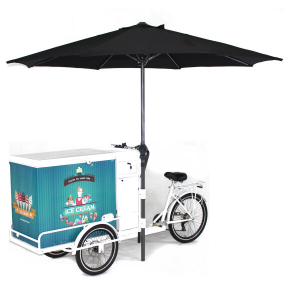 Trike Bike Ice Cream Freezer Trike